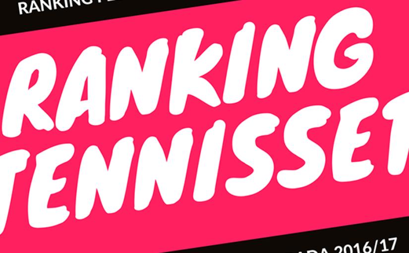 RANKING MASCULINO FEDERADO DE TENIS 2016-2017