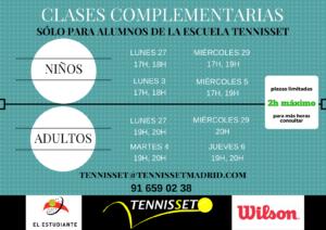 CLASES COMPLEMENTARIAS marzo2017