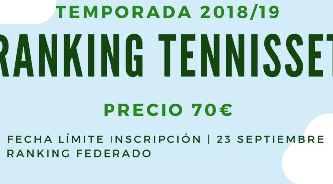 Ranking de tenis club El Estudiante