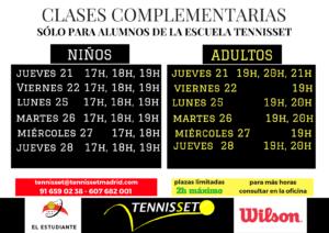 CLASES COMPLEMENTARIAS junio 2018