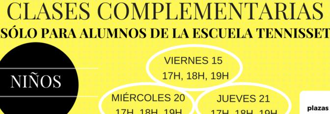 CLASES COMPLEMENTARIAS DICIEMBRE 2017