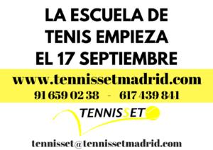 Cursos tenis