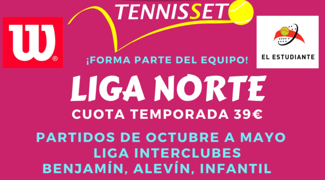LIGA NORTE Tenis Infantil