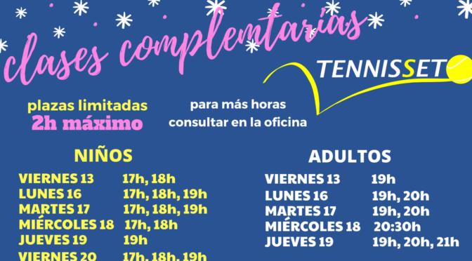 CLASES COMPLEMENTARIAS DICIEMBRE 2019